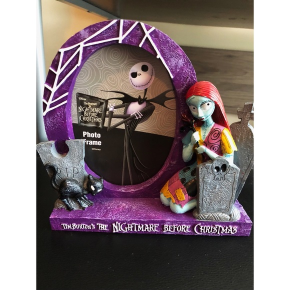 Disney Other Nightmare Before Christmas Photo Frame Poshmark